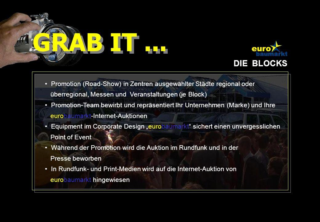DIE MECHANIK 1 Fahrzeug (Sonderedition, Sponsoring) wird zum Zeitpunkt der Promotion-Aktion über EBAY versteigert.
