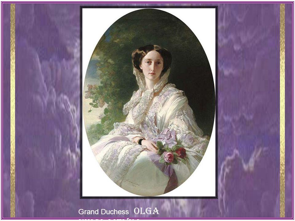 Grand Duchess OLGA NIKOLAIEVNA