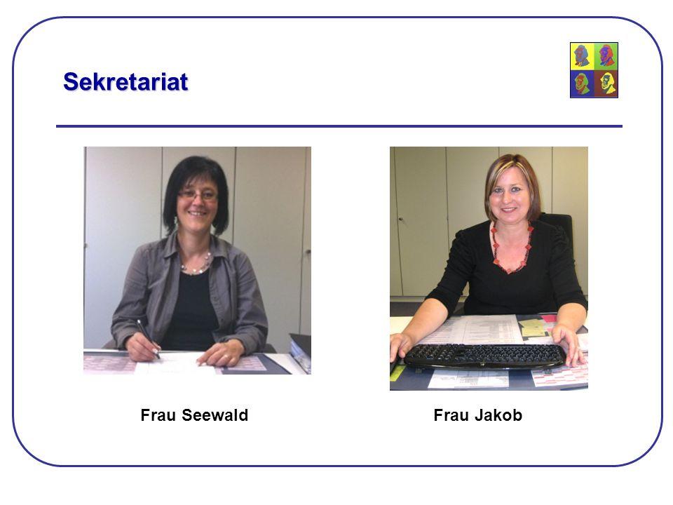 Sekretariat Frau SeewaldFrau Jakob