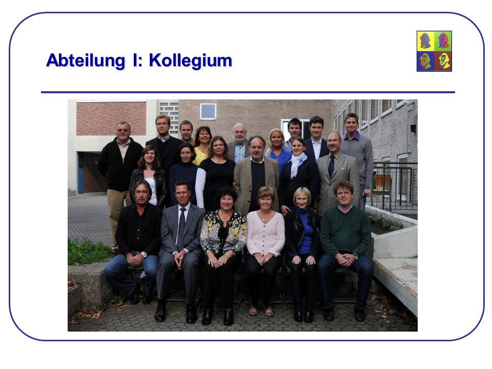 Abteilung I: Kollegium