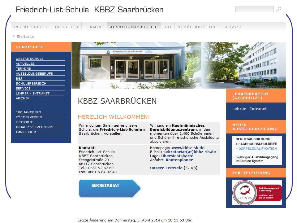 Online: www.kbbz-sb.de