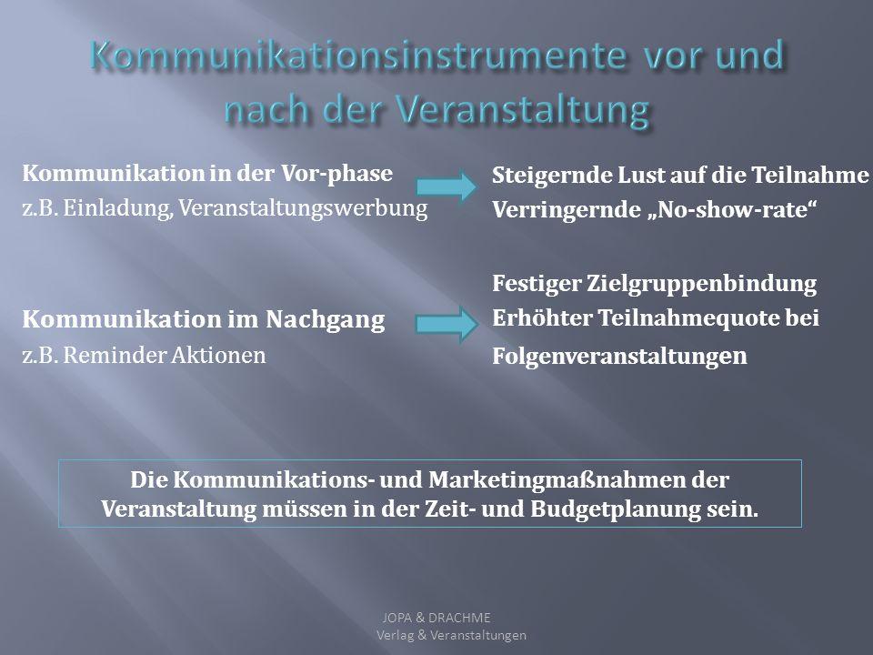 Regelmäßiger Kontakt und Austausch mit Zielgruppe/n - z.B. Newsletters Ergänzende Maßnahmen zur Kundengewinnung und Kundenbindung - z.B. Fortbildungsp