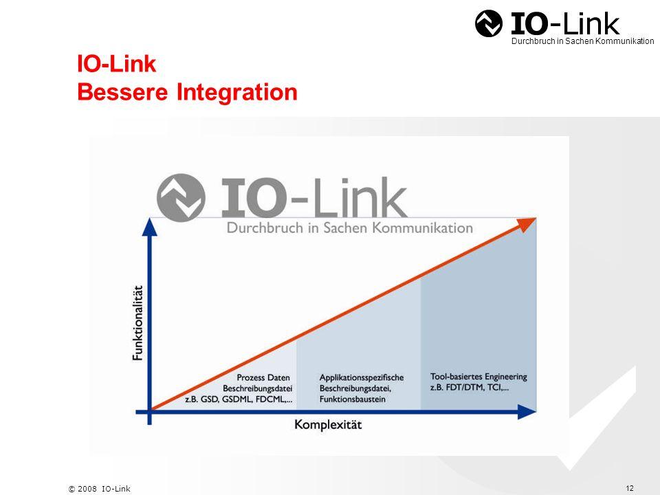 13 © 2008 IO-Link Durchbruch in Sachen Kommunikation IO-Link Informationsfluss