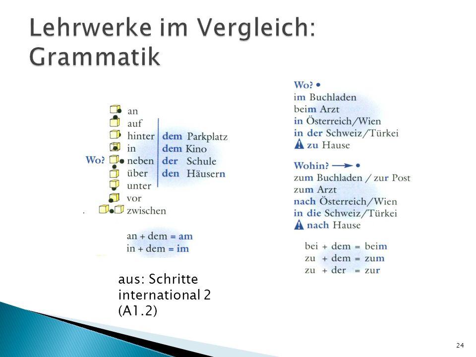 24 aus: Schritte international 2 (A1.2)