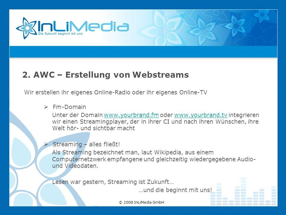 Wir erstellen ihr eigenes Online-Radio oder ihr eigenes Online-TV Fm-Domain Unter der Domain www.yourbrand.fm oder www.yourbrand.tv integrieren wir ei