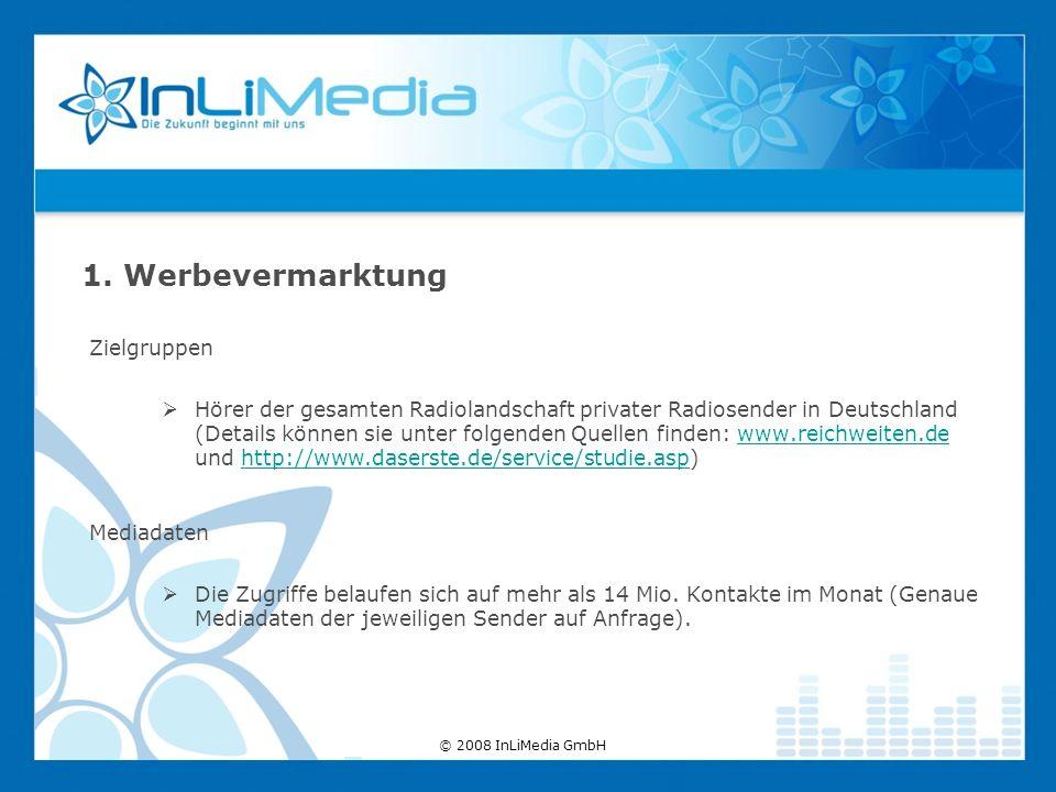 Zielgruppen Hörer der gesamten Radiolandschaft privater Radiosender in Deutschland (Details können sie unter folgenden Quellen finden: www.reichweiten