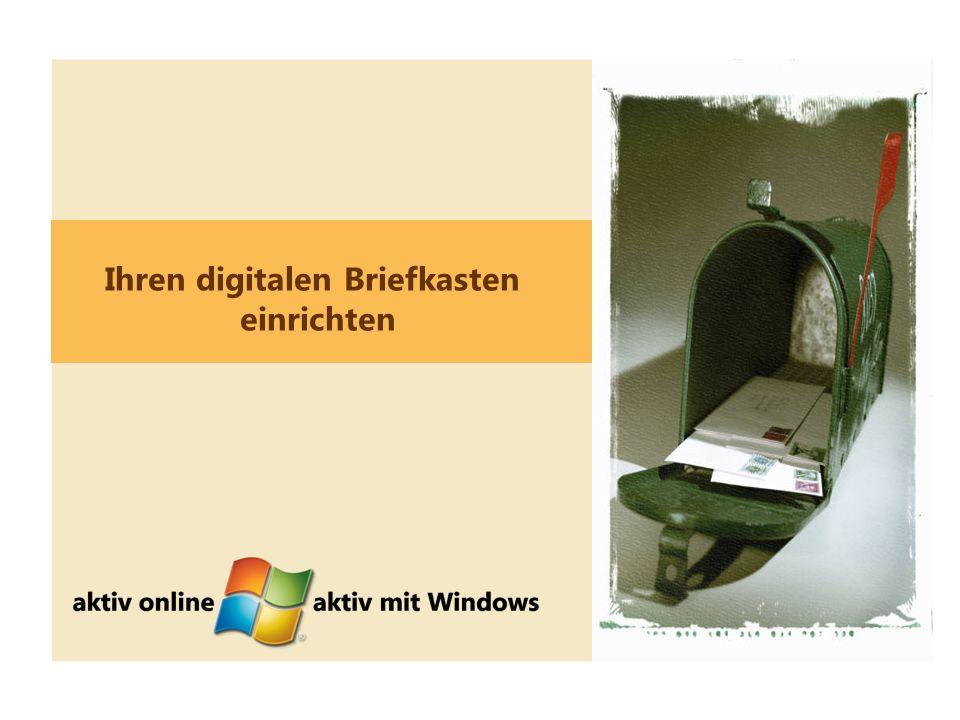 10 Ihren digitalen Briefkasten einrichten