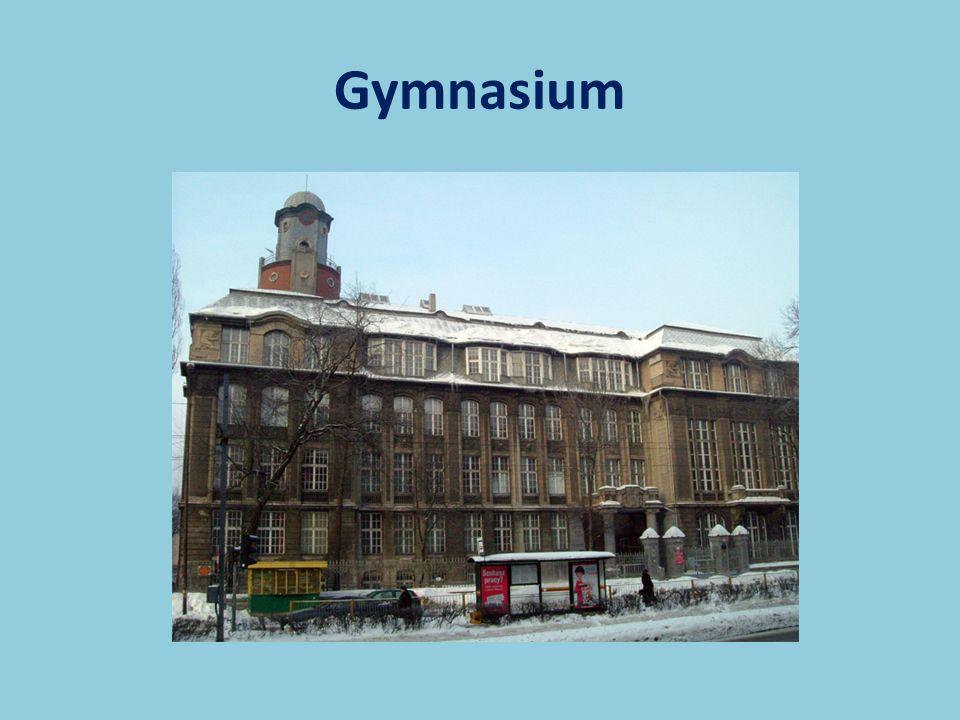 Ein Gymnasium ist wie eine grammar school.