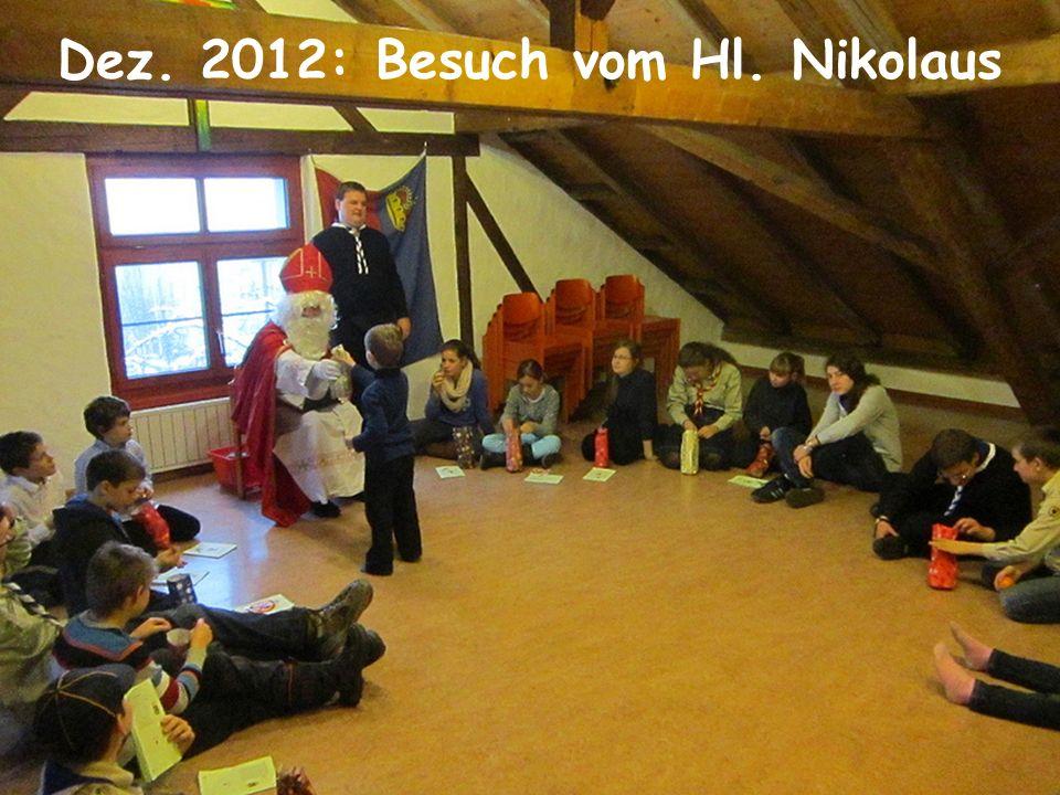 Mai: Pfingstlager in Vaduz
