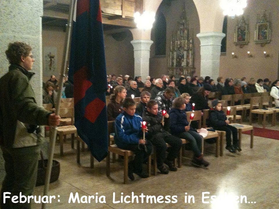 Februar: Maria Lichtmess in Eschen…