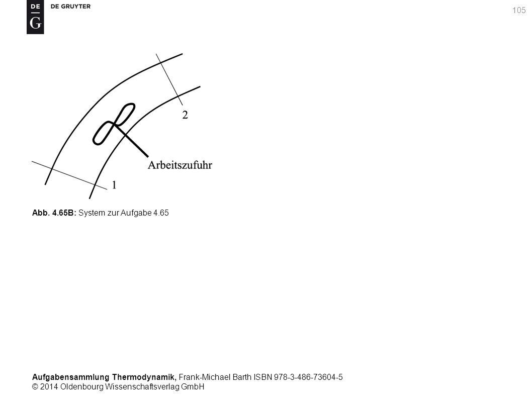 Aufgabensammlung Thermodynamik, Frank-Michael Barth ISBN 978-3-486-73604-5 © 2014 Oldenbourg Wissenschaftsverlag GmbH 105 Abb.