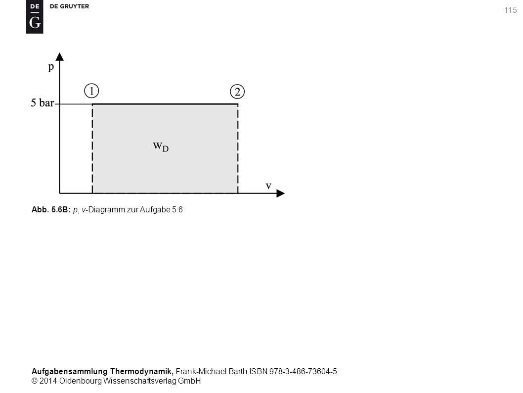 Aufgabensammlung Thermodynamik, Frank-Michael Barth ISBN 978-3-486-73604-5 © 2014 Oldenbourg Wissenschaftsverlag GmbH 115 Abb.