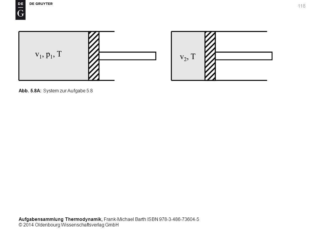 Aufgabensammlung Thermodynamik, Frank-Michael Barth ISBN 978-3-486-73604-5 © 2014 Oldenbourg Wissenschaftsverlag GmbH 118 Abb.