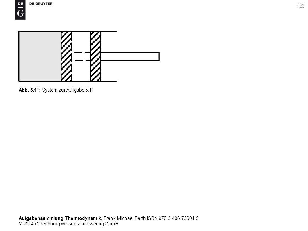 Aufgabensammlung Thermodynamik, Frank-Michael Barth ISBN 978-3-486-73604-5 © 2014 Oldenbourg Wissenschaftsverlag GmbH 123 Abb.