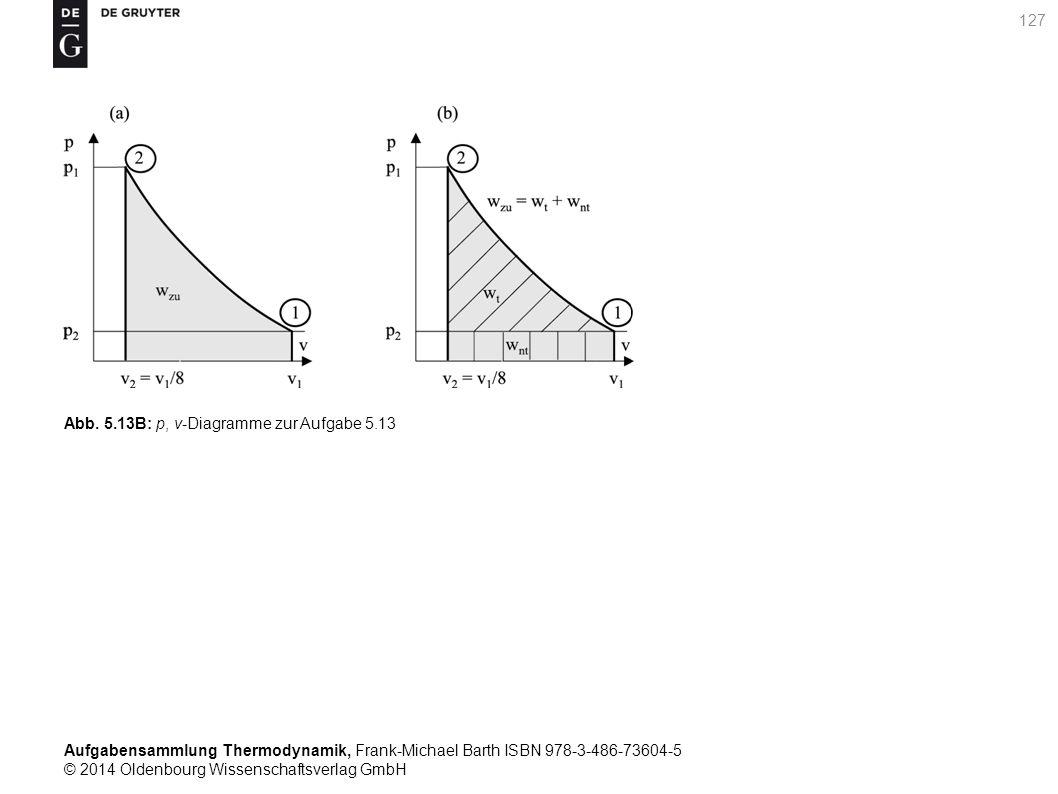 Aufgabensammlung Thermodynamik, Frank-Michael Barth ISBN 978-3-486-73604-5 © 2014 Oldenbourg Wissenschaftsverlag GmbH 127 Abb.