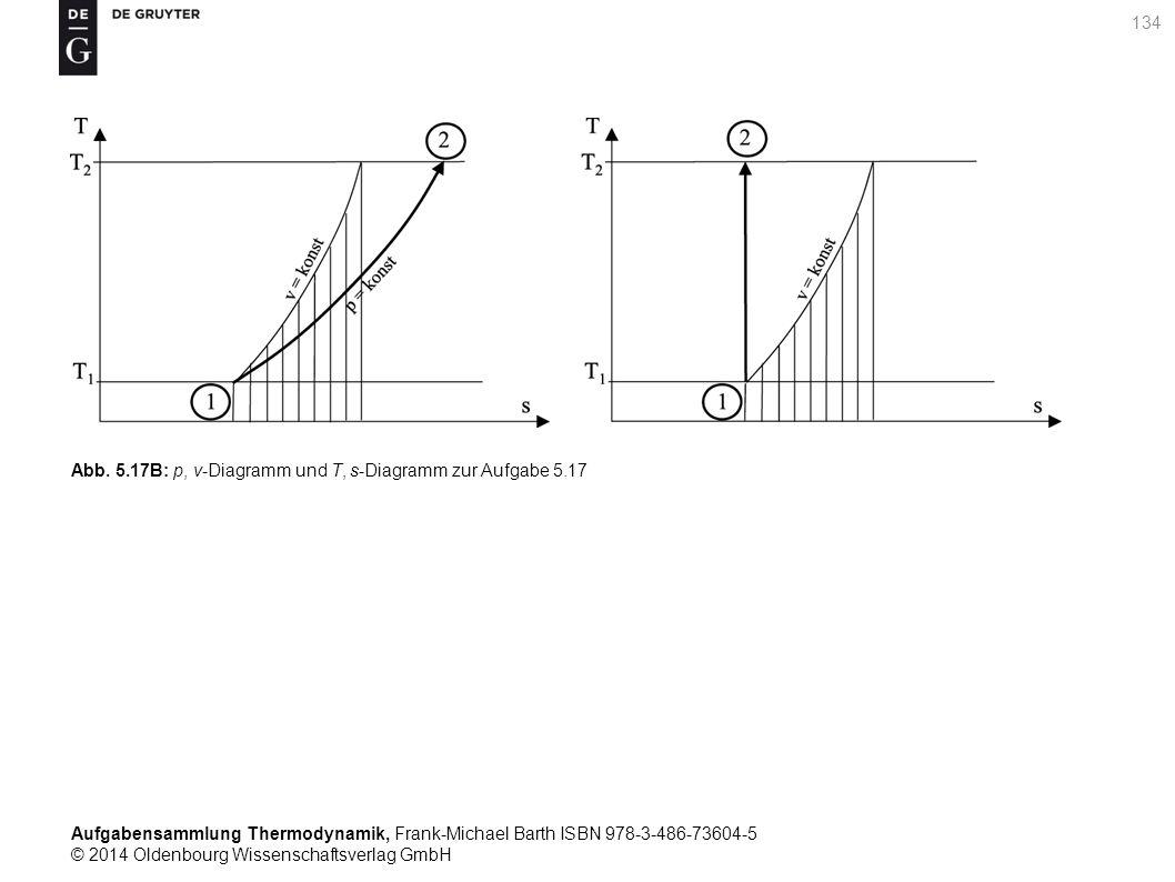 Aufgabensammlung Thermodynamik, Frank-Michael Barth ISBN 978-3-486-73604-5 © 2014 Oldenbourg Wissenschaftsverlag GmbH 134 Abb.