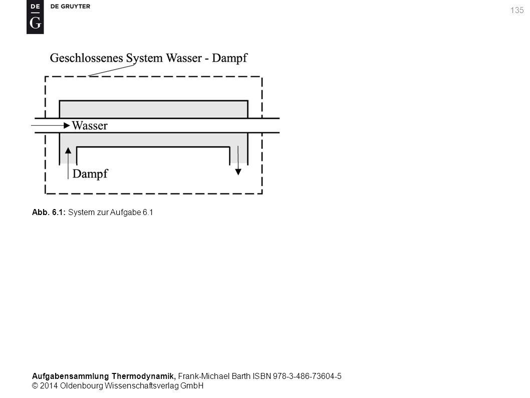 Aufgabensammlung Thermodynamik, Frank-Michael Barth ISBN 978-3-486-73604-5 © 2014 Oldenbourg Wissenschaftsverlag GmbH 135 Abb.