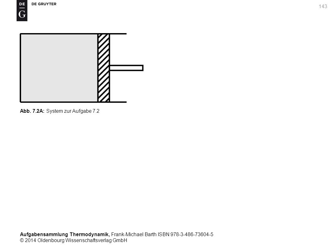 Aufgabensammlung Thermodynamik, Frank-Michael Barth ISBN 978-3-486-73604-5 © 2014 Oldenbourg Wissenschaftsverlag GmbH 143 Abb.