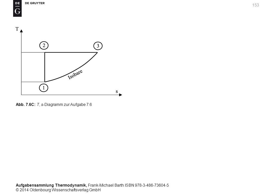 Aufgabensammlung Thermodynamik, Frank-Michael Barth ISBN 978-3-486-73604-5 © 2014 Oldenbourg Wissenschaftsverlag GmbH 153 Abb.