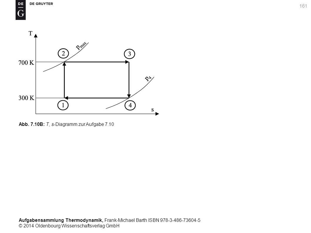 Aufgabensammlung Thermodynamik, Frank-Michael Barth ISBN 978-3-486-73604-5 © 2014 Oldenbourg Wissenschaftsverlag GmbH 161 Abb.