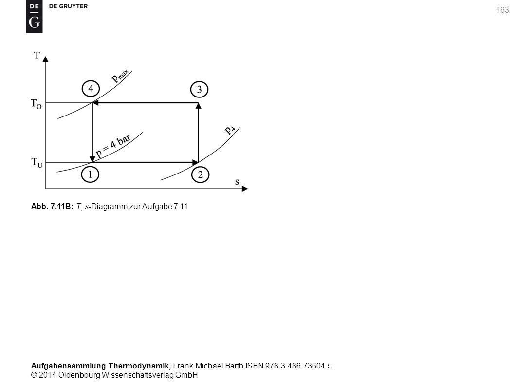 Aufgabensammlung Thermodynamik, Frank-Michael Barth ISBN 978-3-486-73604-5 © 2014 Oldenbourg Wissenschaftsverlag GmbH 163 Abb.