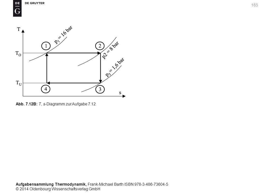 Aufgabensammlung Thermodynamik, Frank-Michael Barth ISBN 978-3-486-73604-5 © 2014 Oldenbourg Wissenschaftsverlag GmbH 165 Abb.