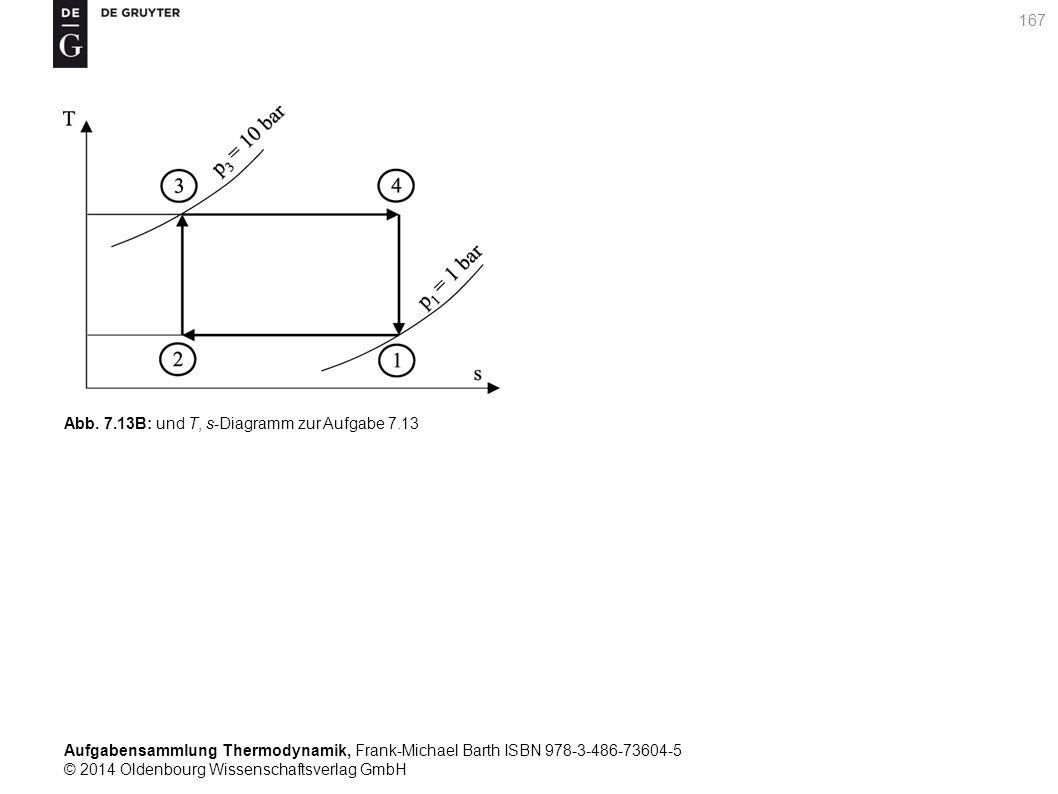 Aufgabensammlung Thermodynamik, Frank-Michael Barth ISBN 978-3-486-73604-5 © 2014 Oldenbourg Wissenschaftsverlag GmbH 167 Abb.