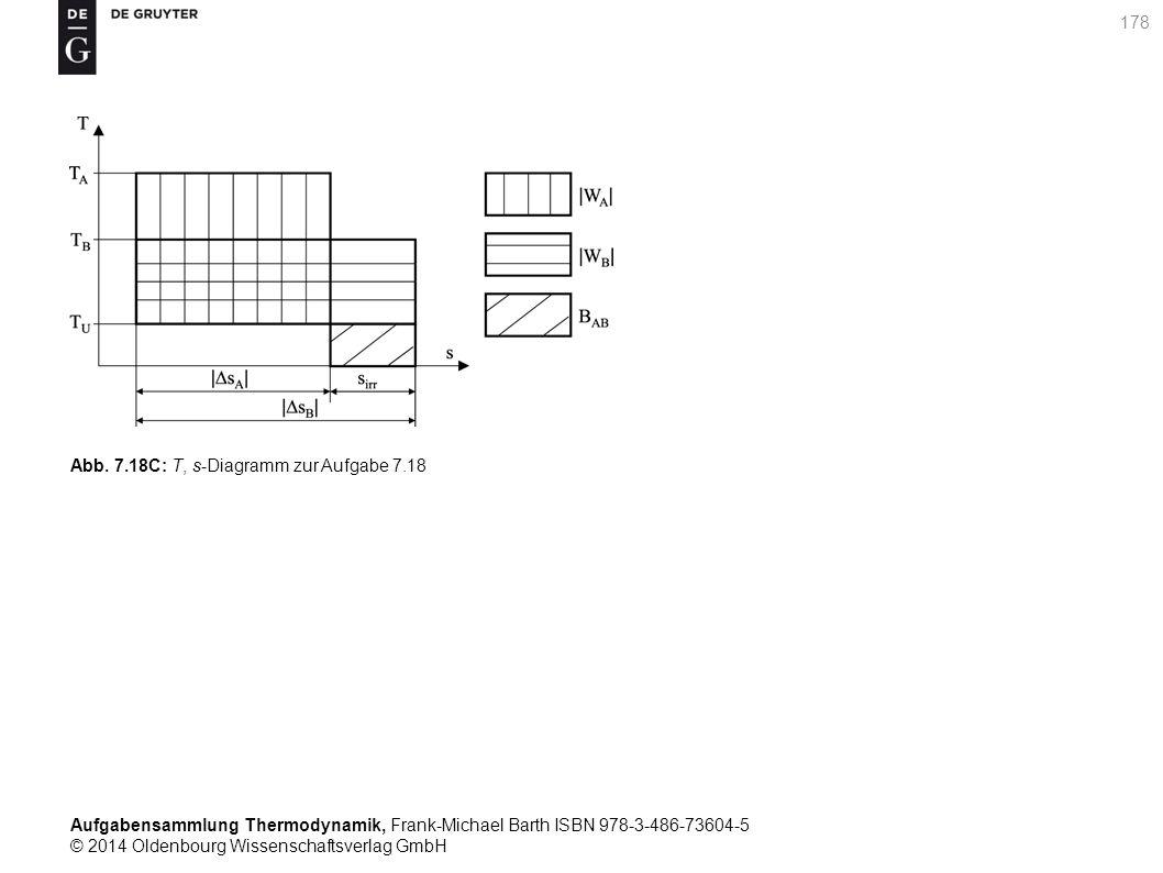 Aufgabensammlung Thermodynamik, Frank-Michael Barth ISBN 978-3-486-73604-5 © 2014 Oldenbourg Wissenschaftsverlag GmbH 178 Abb.