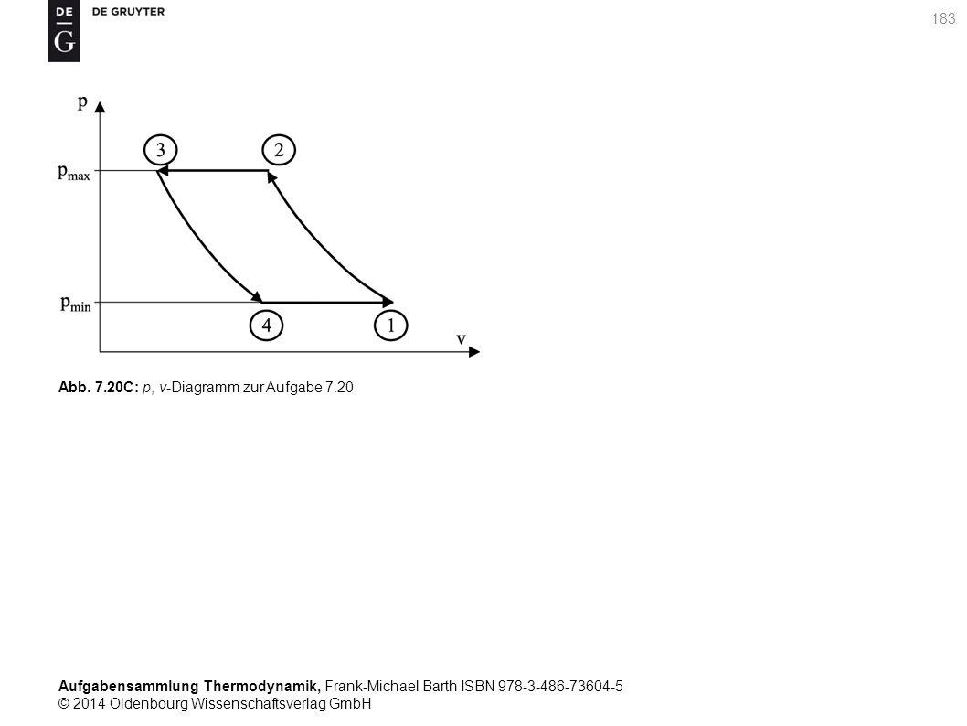 Aufgabensammlung Thermodynamik, Frank-Michael Barth ISBN 978-3-486-73604-5 © 2014 Oldenbourg Wissenschaftsverlag GmbH 183 Abb.