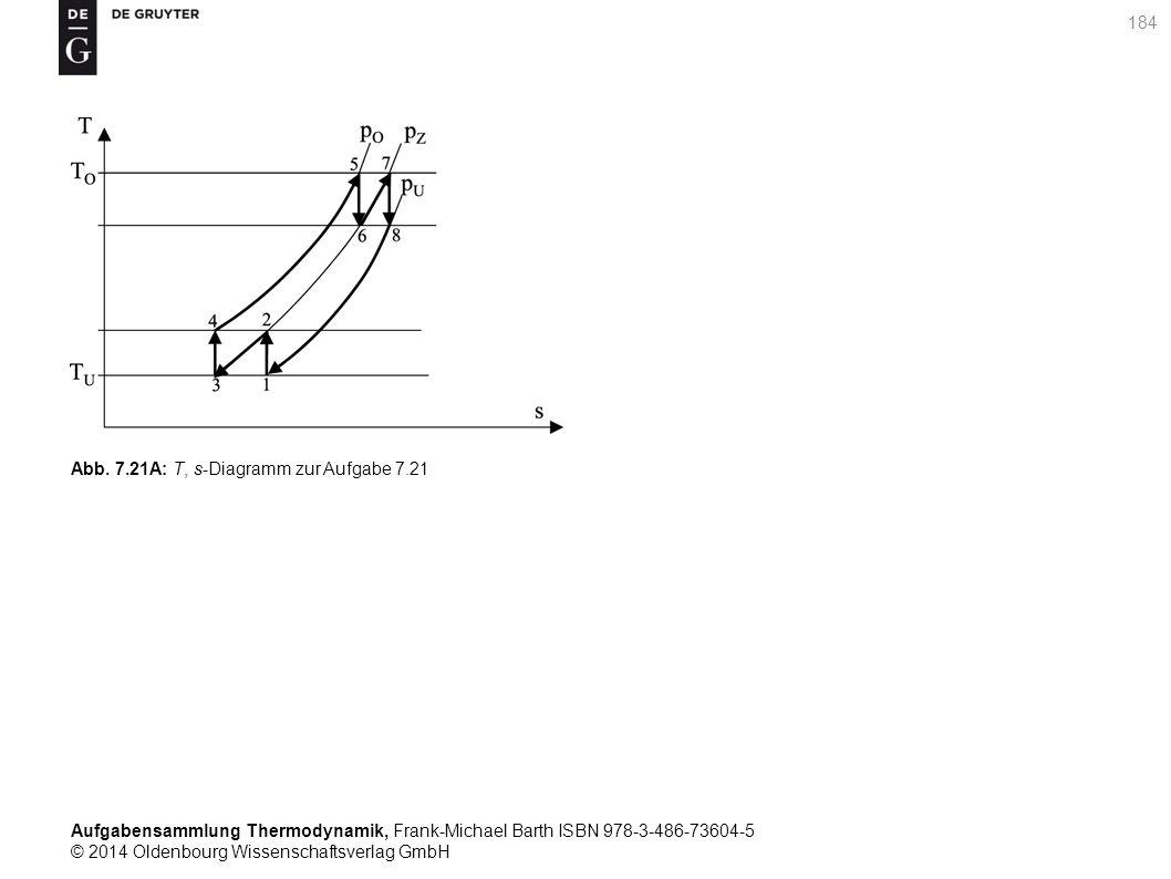 Aufgabensammlung Thermodynamik, Frank-Michael Barth ISBN 978-3-486-73604-5 © 2014 Oldenbourg Wissenschaftsverlag GmbH 184 Abb.