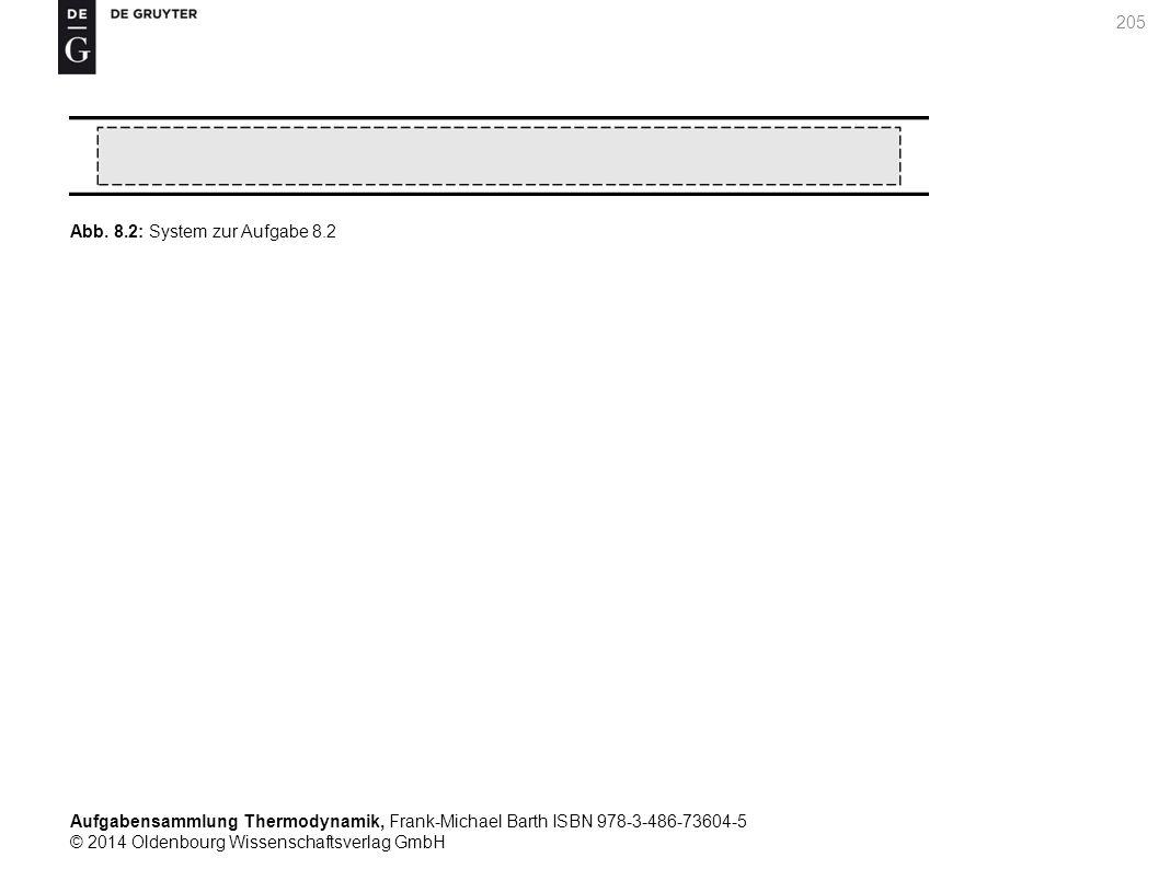 Aufgabensammlung Thermodynamik, Frank-Michael Barth ISBN 978-3-486-73604-5 © 2014 Oldenbourg Wissenschaftsverlag GmbH 205 Abb.