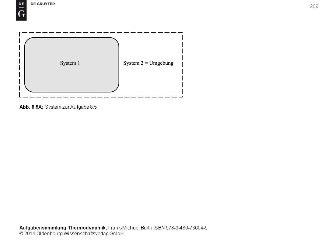 Aufgabensammlung Thermodynamik, Frank-Michael Barth ISBN 978-3-486-73604-5 © 2014 Oldenbourg Wissenschaftsverlag GmbH 209 Abb.