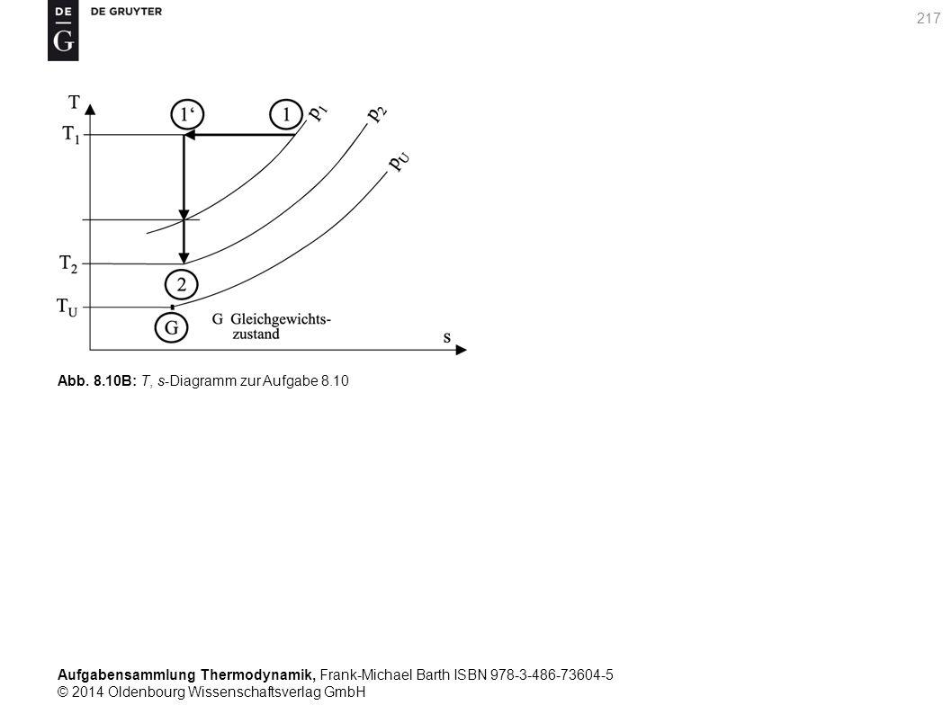 Aufgabensammlung Thermodynamik, Frank-Michael Barth ISBN 978-3-486-73604-5 © 2014 Oldenbourg Wissenschaftsverlag GmbH 217 Abb.