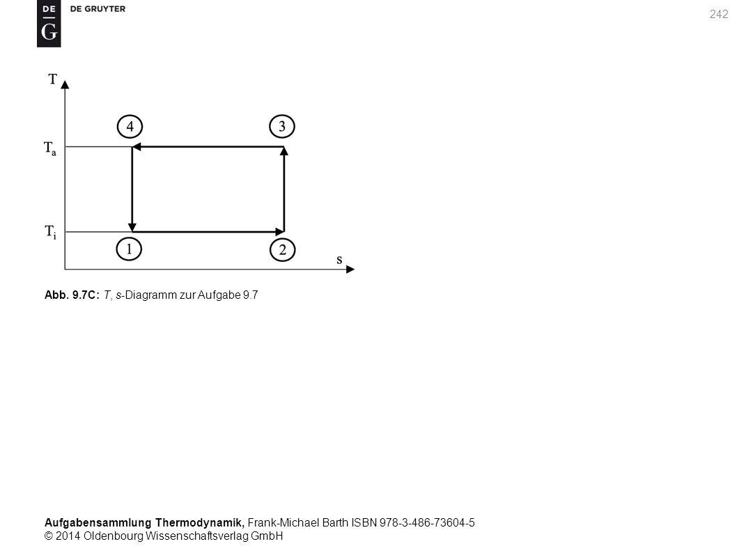 Aufgabensammlung Thermodynamik, Frank-Michael Barth ISBN 978-3-486-73604-5 © 2014 Oldenbourg Wissenschaftsverlag GmbH 242 Abb.
