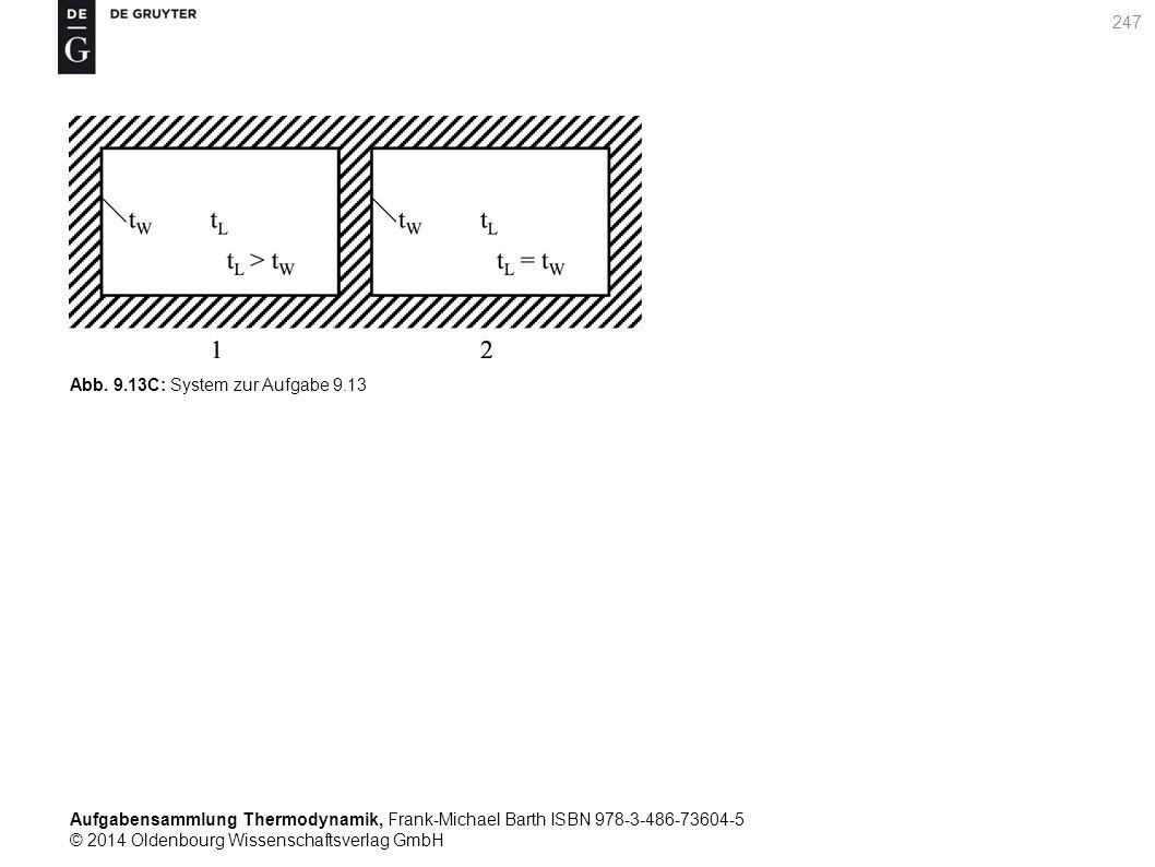 Aufgabensammlung Thermodynamik, Frank-Michael Barth ISBN 978-3-486-73604-5 © 2014 Oldenbourg Wissenschaftsverlag GmbH 247 Abb.