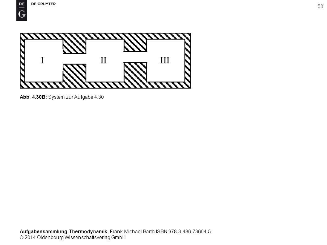 Aufgabensammlung Thermodynamik, Frank-Michael Barth ISBN 978-3-486-73604-5 © 2014 Oldenbourg Wissenschaftsverlag GmbH 58 Abb.