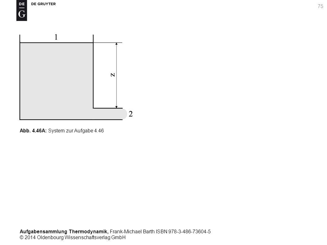 Aufgabensammlung Thermodynamik, Frank-Michael Barth ISBN 978-3-486-73604-5 © 2014 Oldenbourg Wissenschaftsverlag GmbH 75 Abb.