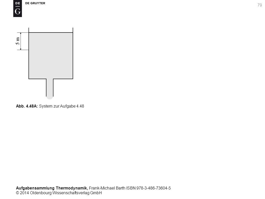 Aufgabensammlung Thermodynamik, Frank-Michael Barth ISBN 978-3-486-73604-5 © 2014 Oldenbourg Wissenschaftsverlag GmbH 79 Abb.