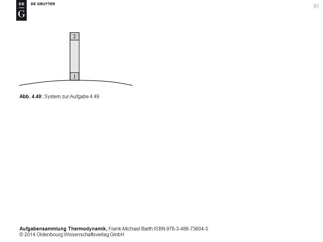 Aufgabensammlung Thermodynamik, Frank-Michael Barth ISBN 978-3-486-73604-5 © 2014 Oldenbourg Wissenschaftsverlag GmbH 81 Abb.