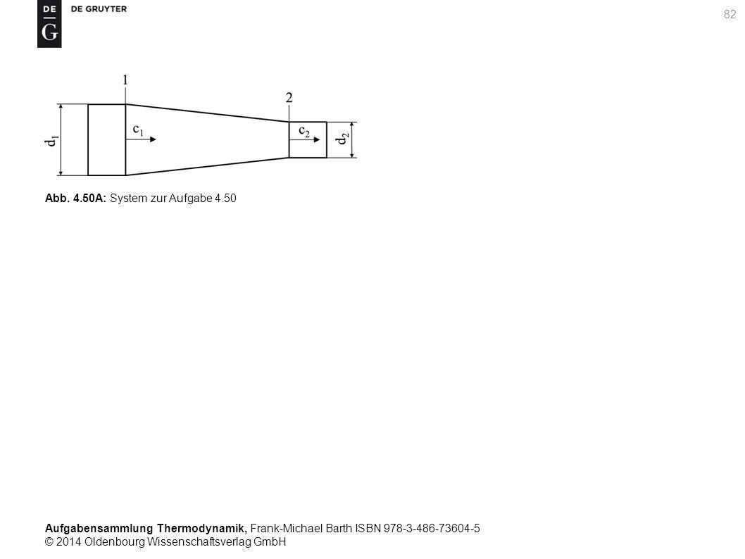 Aufgabensammlung Thermodynamik, Frank-Michael Barth ISBN 978-3-486-73604-5 © 2014 Oldenbourg Wissenschaftsverlag GmbH 82 Abb.