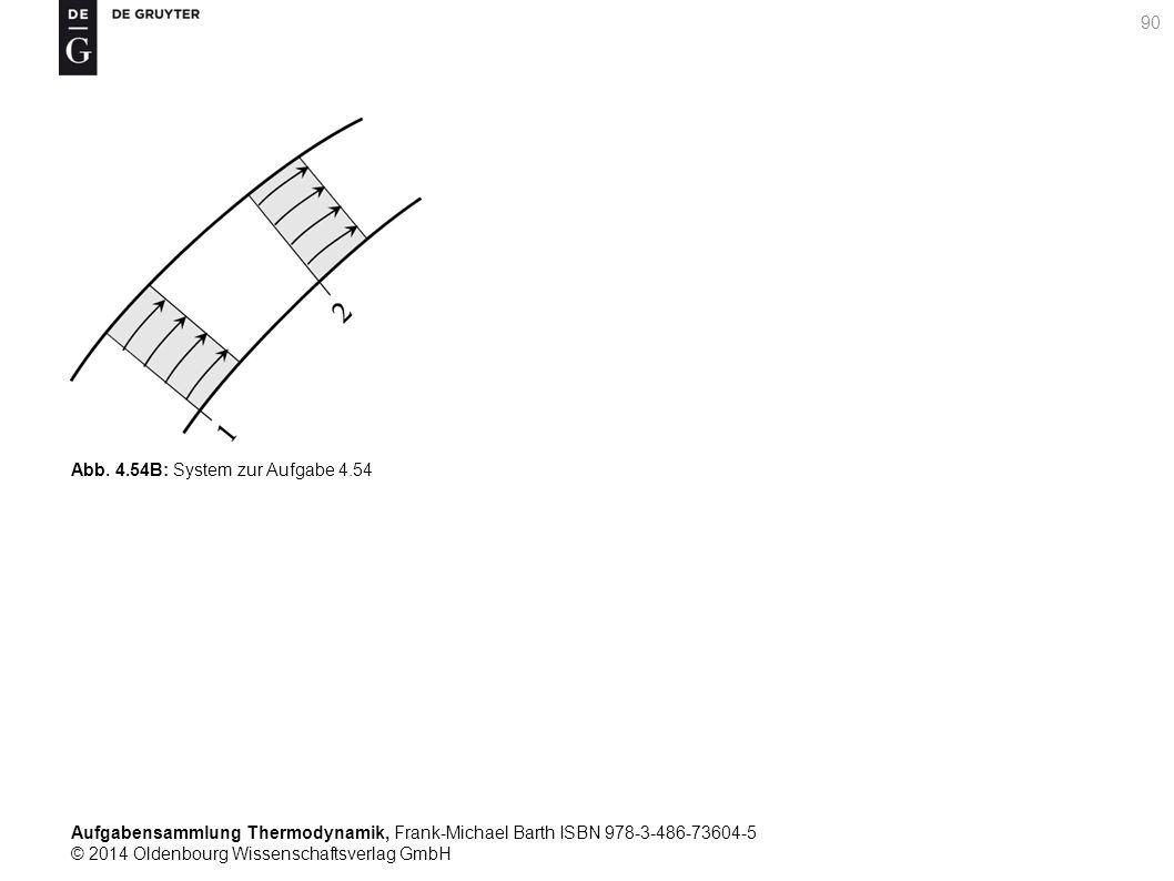 Aufgabensammlung Thermodynamik, Frank-Michael Barth ISBN 978-3-486-73604-5 © 2014 Oldenbourg Wissenschaftsverlag GmbH 90 Abb.