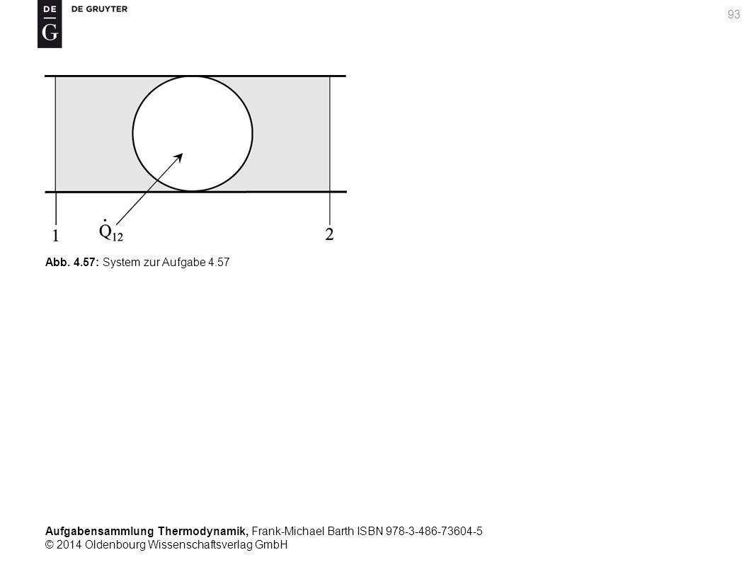 Aufgabensammlung Thermodynamik, Frank-Michael Barth ISBN 978-3-486-73604-5 © 2014 Oldenbourg Wissenschaftsverlag GmbH 93 Abb.