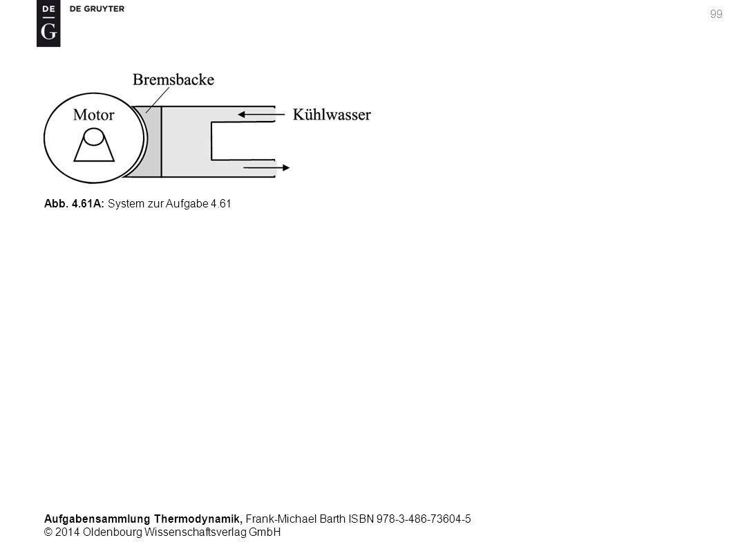 Aufgabensammlung Thermodynamik, Frank-Michael Barth ISBN 978-3-486-73604-5 © 2014 Oldenbourg Wissenschaftsverlag GmbH 99 Abb.