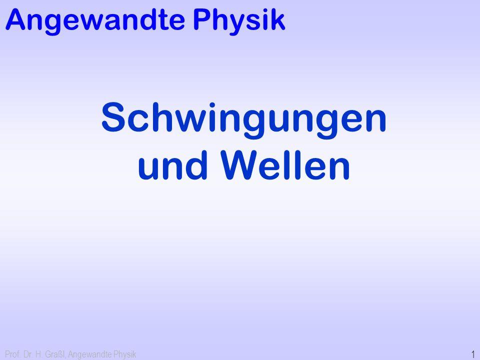 12 Beispiele für schwingende Systeme / Oszillatoren Foucault-Pendel 0,2 Hz Unruh in Uhrwerk 2 Hz Schwingquarz 4 MHz Molekülschwingung x GHz –THz YIG Oszillator 4 GHz Stimmgabel 440 Hz Stimmgabelquarz 32768 Hz