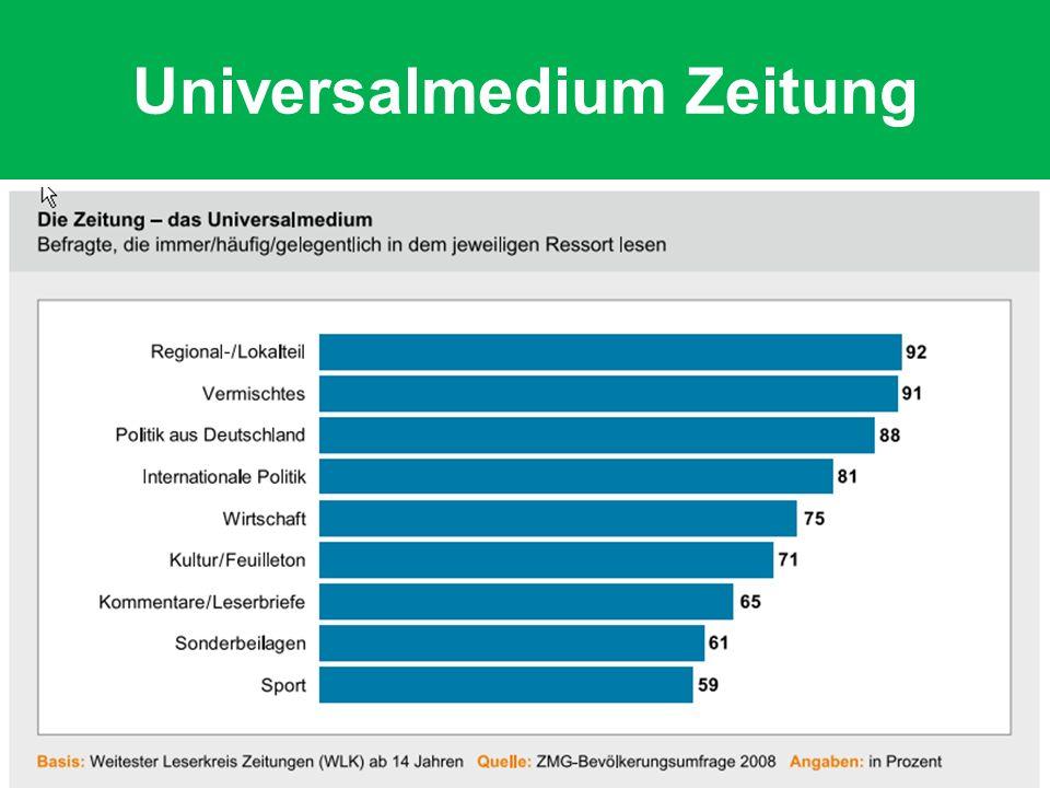 Universalmedium Zeitung