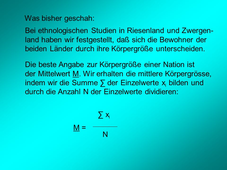 Daraus folgt: Der Korrelationskoeffizient r ist abhängig von den Parametern M (Mittelwert) und S 2 (Varianz).