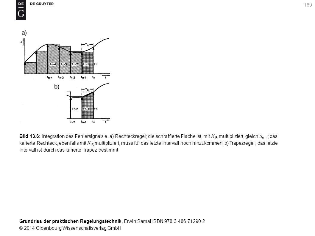 Grundriss der praktischen Regelungstechnik, Erwin Samal ISBN 978-3-486-71290-2 © 2014 Oldenbourg Wissenschaftsverlag GmbH 169 Bild 13.6: Integration d