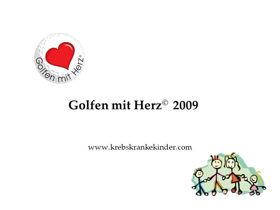 Golfen mit Herz © 2009 www.krebskrankekinder.com