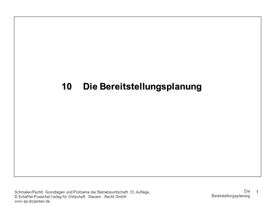 62 Schmalen/Pechtl, Grundlagen und Probleme der Betriebswirtschaft, 13.