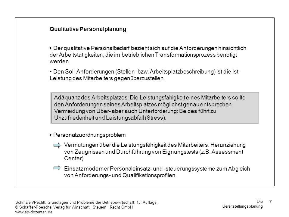 28 Schmalen/Pechtl, Grundlagen und Probleme der Betriebswirtschaft, 13.